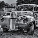 Old Warrior - 1940 Ford Race Car by kenmo