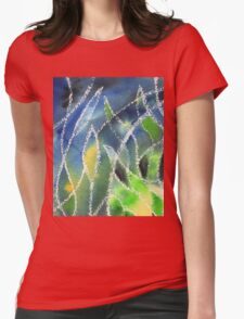 Whimsical Garden Organic Decor I Womens Fitted T-Shirt