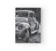 Old Warrior - 1940 Ford Race Car Hardcover Journal