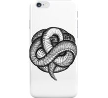 snakeball grey iPhone Case/Skin