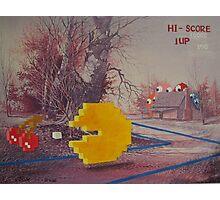 8 Bit Landscape Photographic Print