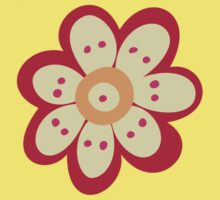 Flowers, Blossoms, Petals - Red Orange Yellow Kids Clothes