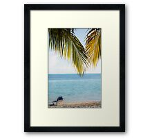 Afternoon in Paradise Framed Print