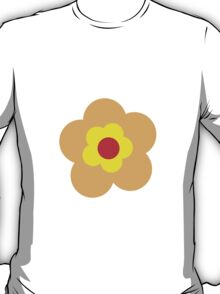 Flowers, Blossoms, Petals - Red Orange Yellow T-Shirt