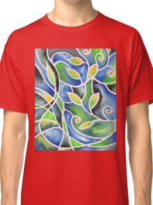 Whimsical Garden Organic Decor IV Classic T-Shirt