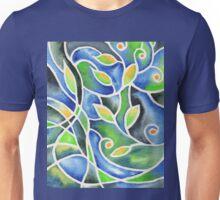 Whimsical Garden Organic Decor IV Unisex T-Shirt