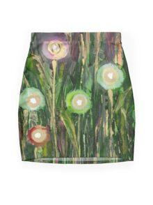 """""""Garden of Light"""" Mini Skirt"""