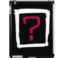 Where Is the Love iPad Case/Skin