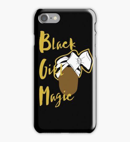Black Girl Magic Case - Head Wrap (Black Case) iPhone Case/Skin