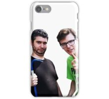 Idubbbz and Ethan Klein of h3h3 iPhone Case/Skin