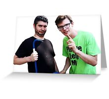 Idubbbz and Ethan Klein of h3h3 Greeting Card