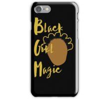 Black Girl Magic Case - Bantu Knots (Black Case) iPhone Case/Skin