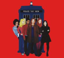 Doctor Who - The Companions One Piece - Long Sleeve