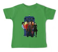 Doctor Who - The Companions Baby Tee