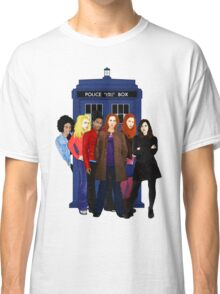 Doctor Who - The Companions Classic T-Shirt