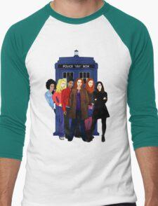 Doctor Who - The Companions Men's Baseball ¾ T-Shirt