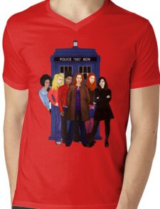 Doctor Who - The Companions Mens V-Neck T-Shirt