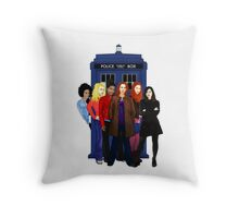 Doctor Who - The Companions Throw Pillow