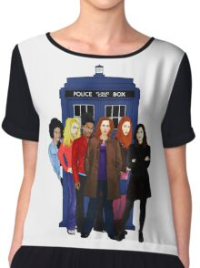 Doctor Who - The Companions Chiffon Top