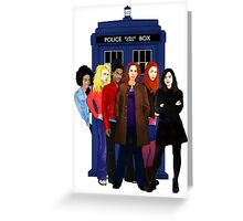 Doctor Who - The Companions Greeting Card