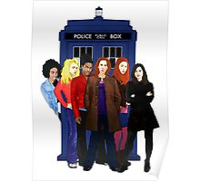Doctor Who - The Companions Poster