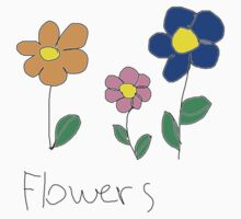 FLOWERS Baby Tee