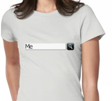 search me Womens Fitted T-Shirt