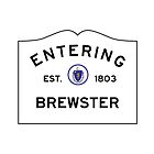 Entering Brewster - Commonwealth of Massachusetts Road Sign by IntWanderer