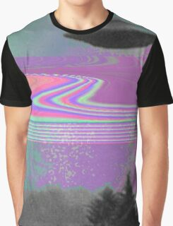 Psychedelic UFO Graphic T-Shirt