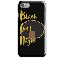 Black Girl Magic Case - Afro (black case) iPhone Case/Skin