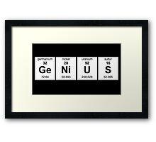 GE NI U S  Framed Print
