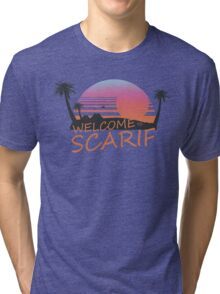 Welcome To Scarif Tri-blend T-Shirt