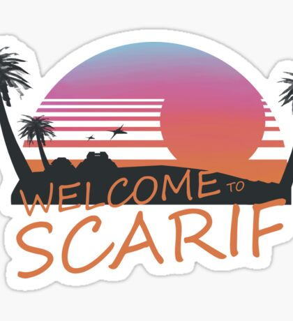 Welcome To Scarif Sticker