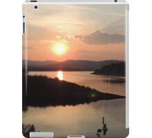 Summer Sunset at Unity Lake iPad Case/Skin