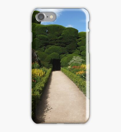 Long walk to Darkness iPhone Case/Skin