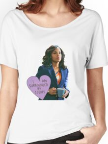 """O.P. """"I'm Surrounded By Idiots"""" Women's Relaxed Fit T-Shirt"""
