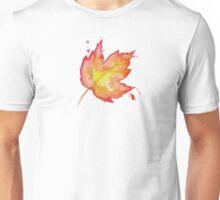 Autumn Leaves / Fall Leaf - Watercolor Painting - Tshirts + More! Halloween Jonny2may / J2Art Unisex T-Shirt