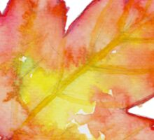 Autumn Leaves / Fall Leaf - Watercolor Painting - Tshirts + More! Halloween Jonny2may / J2Art Sticker