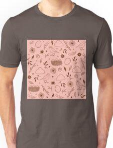 Robin Egg Pink Unisex T-Shirt