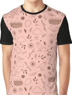 Robin Egg Pink Graphic T-Shirt
