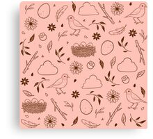 Robin Egg Pink Canvas Print