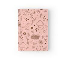 Robin Egg Pink Hardcover Journal