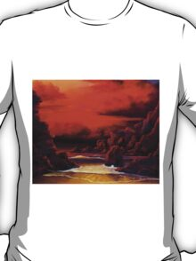 Red Sky Sunset T-Shirt