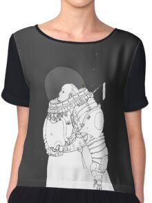 Space Samurai  Chiffon Top