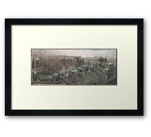 Altered, Autumn of Terror Framed Print