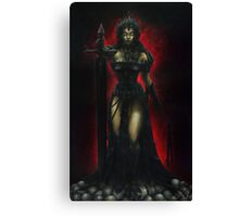 Lady Vengeance Oil Painting Canvas Print