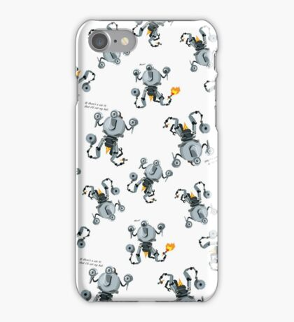 Codsworth Pattern iPhone Case/Skin