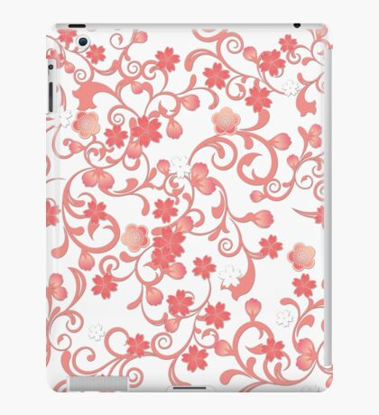 Abstract Cherry Blossoms iPad Case/Skin