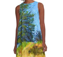 Majestic Trees next to the Beach 2 A-Line Dress