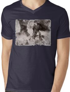 Wolfman Dog Walker ( 2) Mens V-Neck T-Shirt
